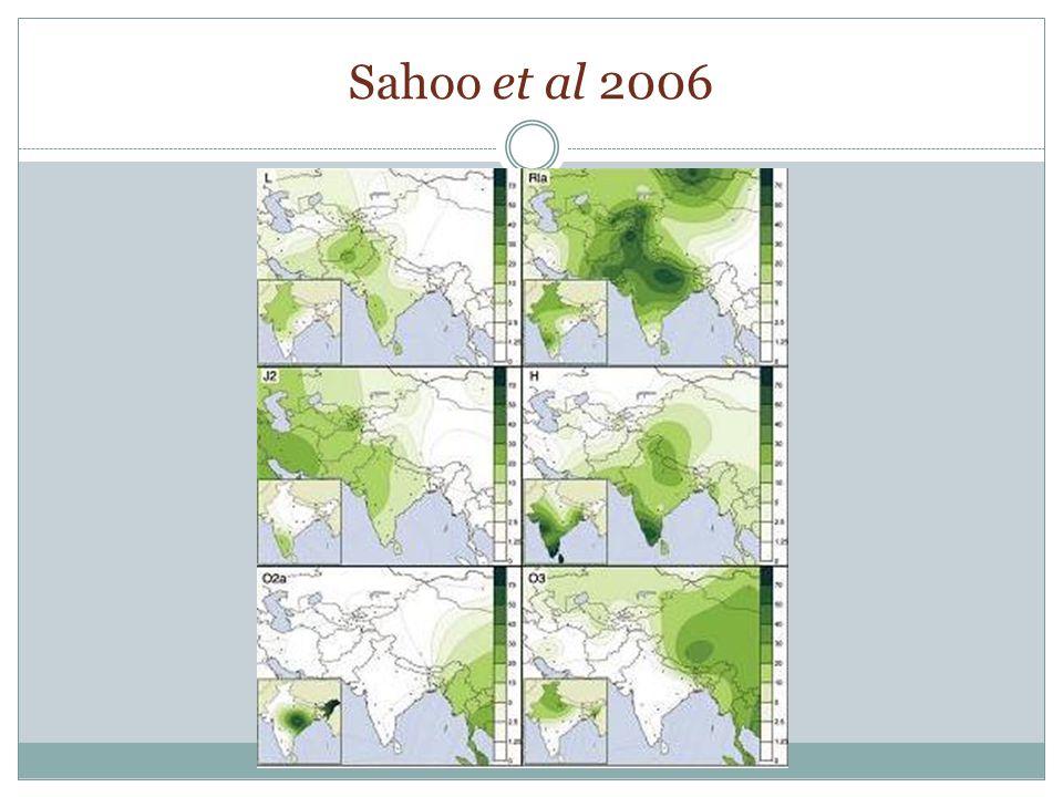 Sahoo et al 2006