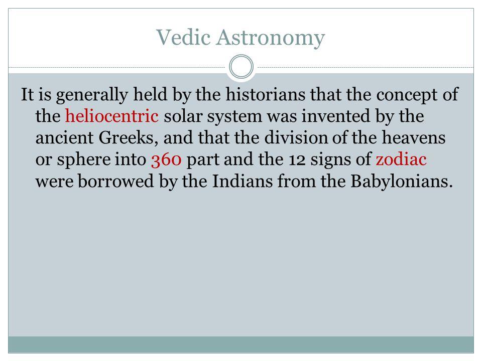 Vedic Astronomy