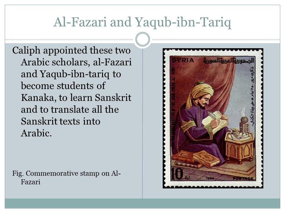 Al-Fazari and Yaqub-ibn-Tariq