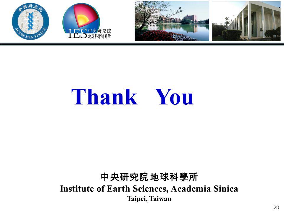 Institute of Earth Sciences, Academia Sinica