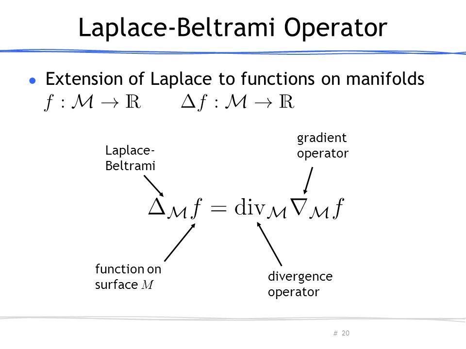 Laplace-Beltrami Operator