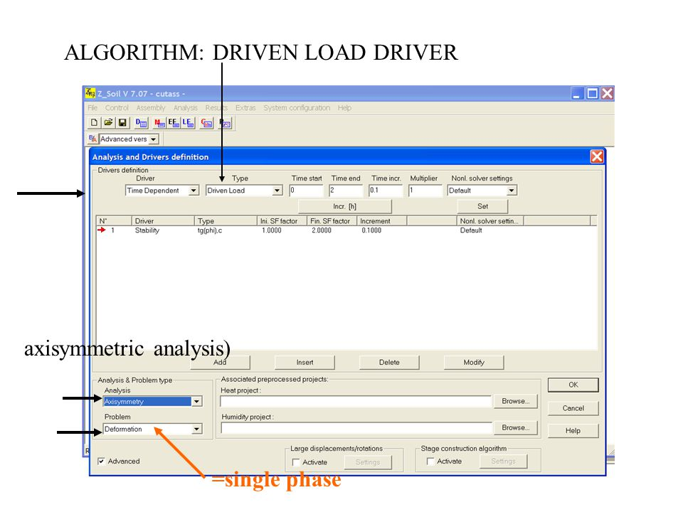 ALGORITHM: DRIVEN LOAD DRIVER