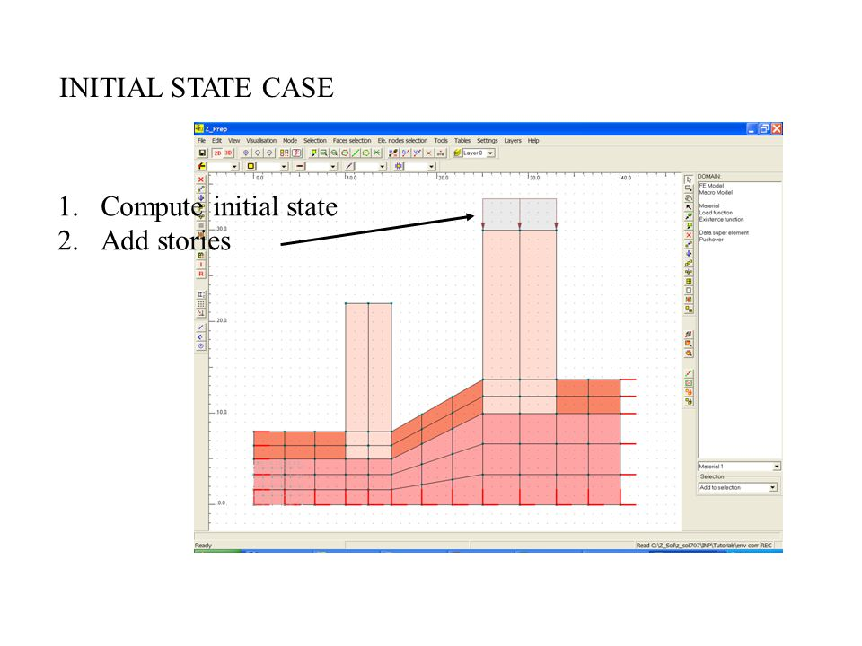 INITIAL STATE CASE Compute initial state Add stories
