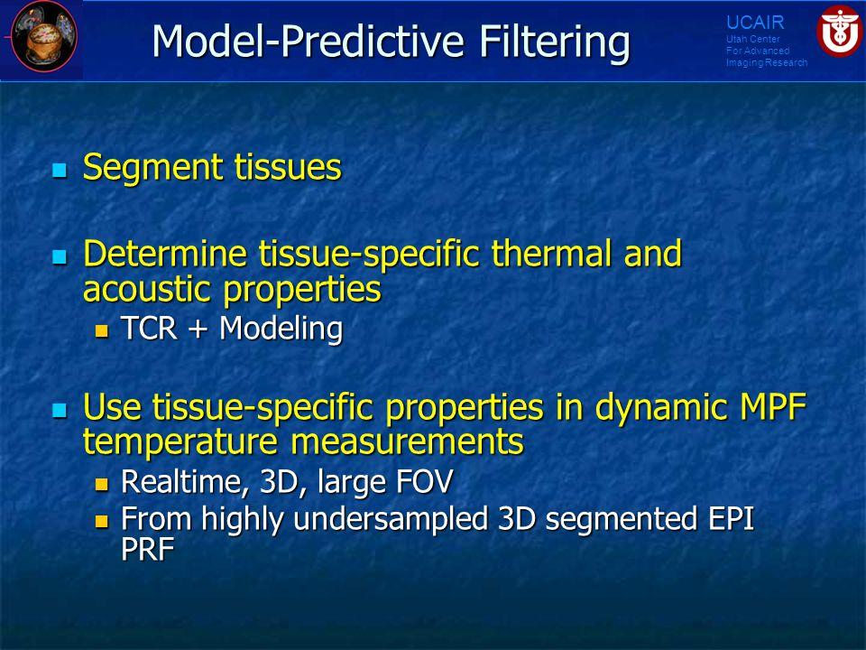 Model-Predictive Filtering