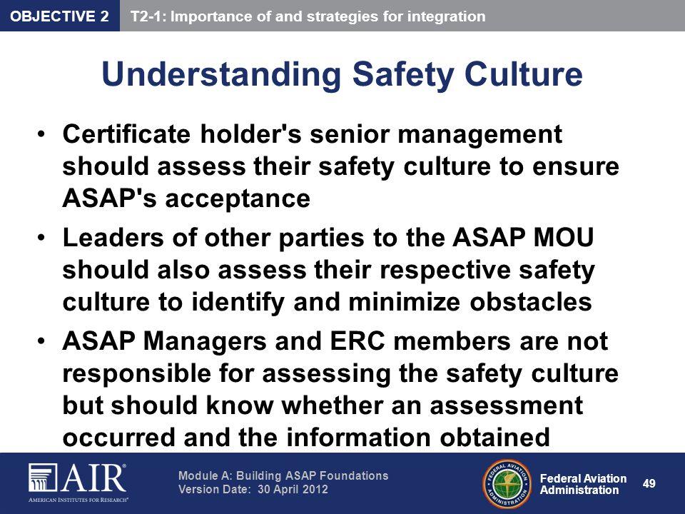 Understanding Safety Culture