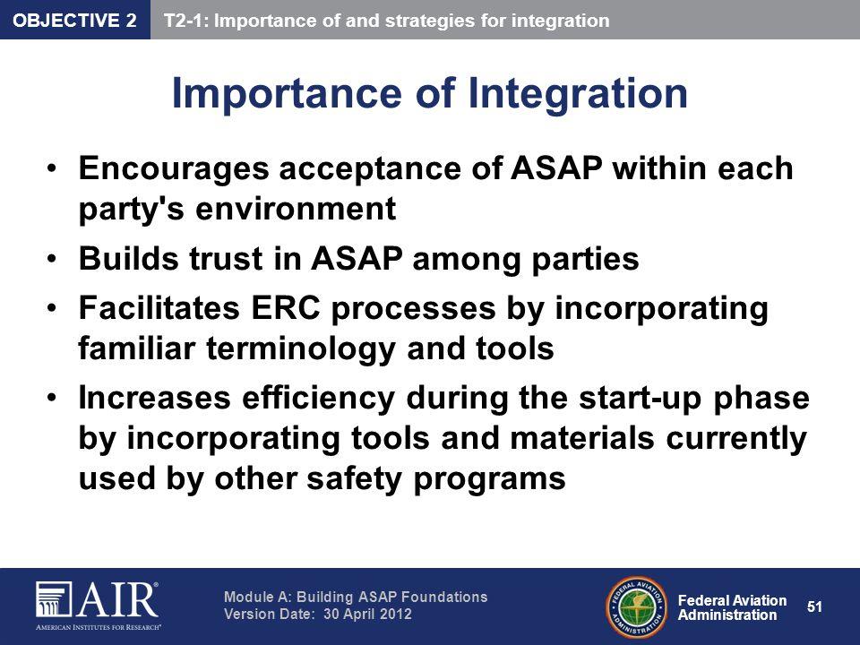 Importance of Integration