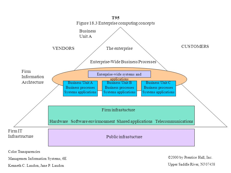 T95 Figure 18.3 Enterprise computing concepts