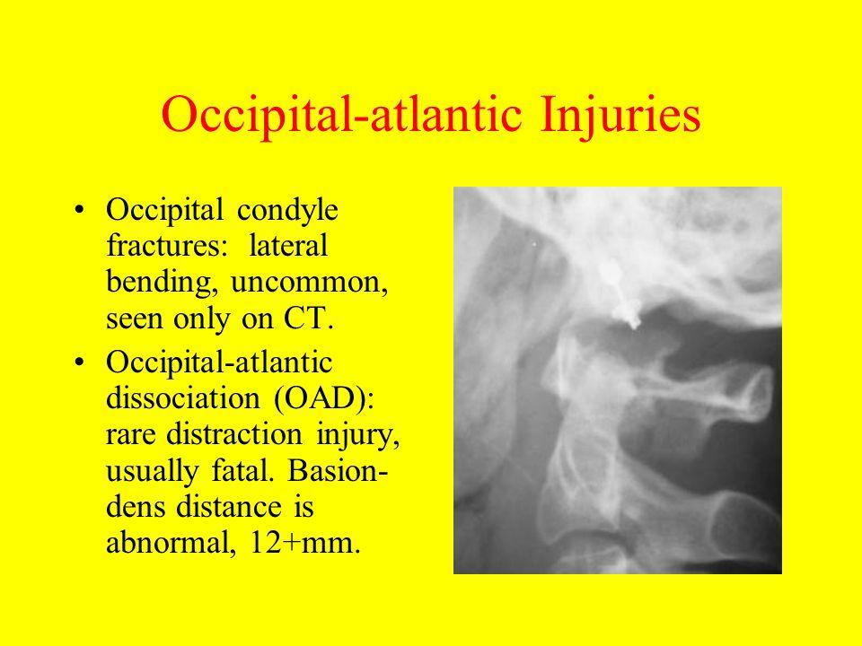 Occipital-atlantic Injuries