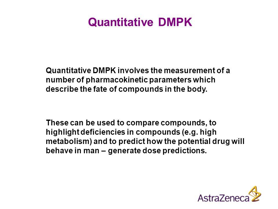 Quantitative DMPK