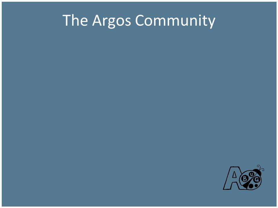 The Argos Community The Argos Community