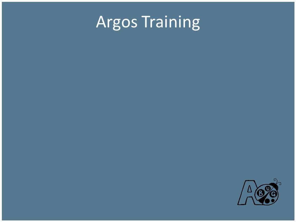 Argos Training Argos Training
