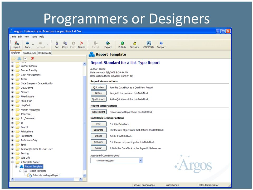 Programmers or Designers