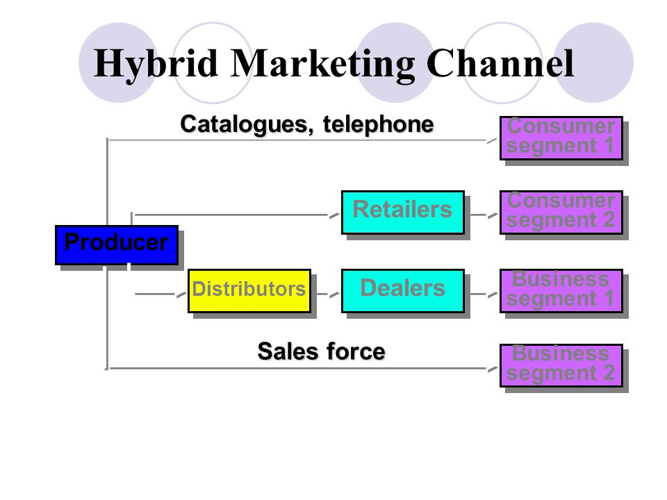 Hybrid Marketing Channel