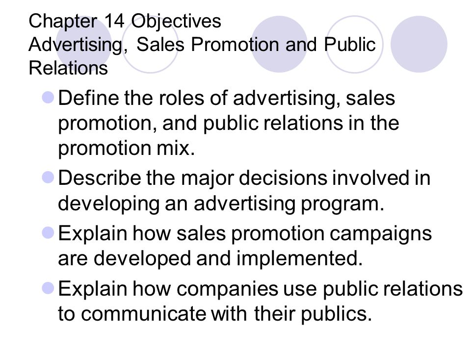 Explain how sales promotion campaigns are developed and implemented.