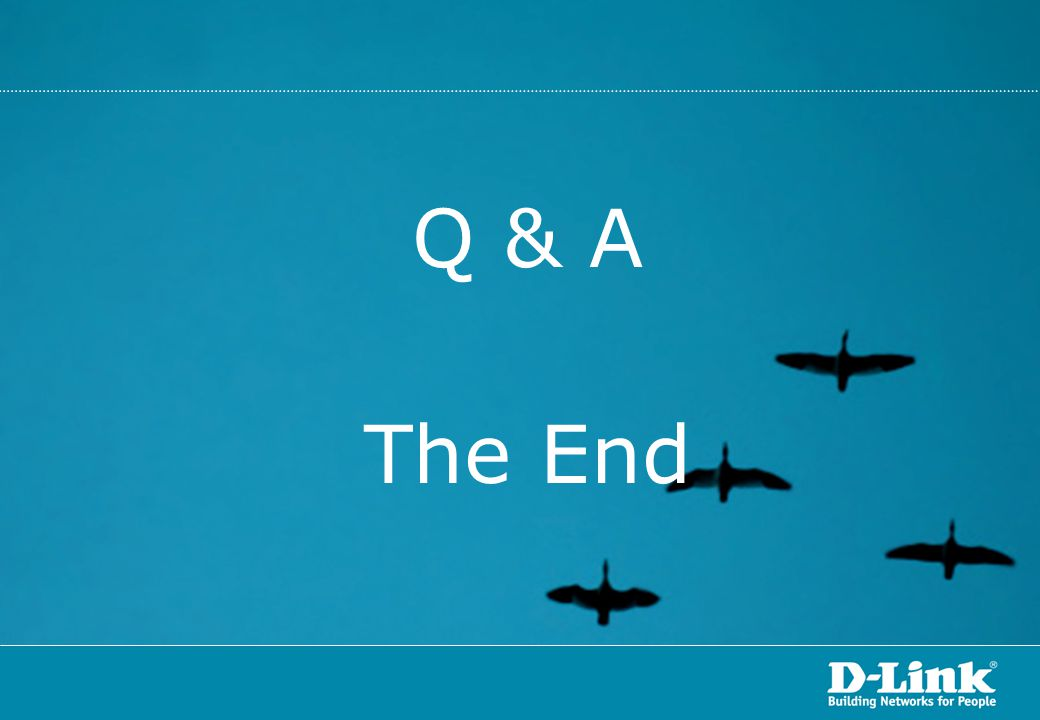 Q & A The End