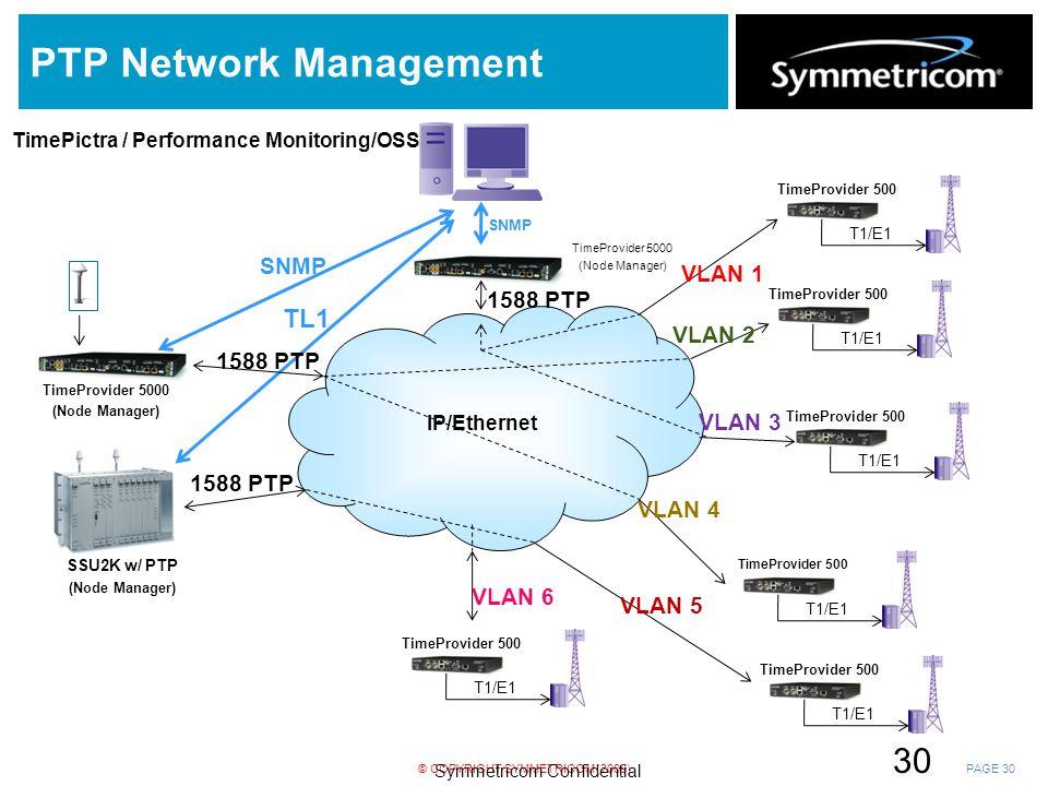 PTP Network Management