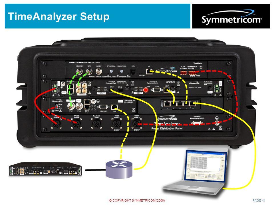 TimeAnalyzer Setup