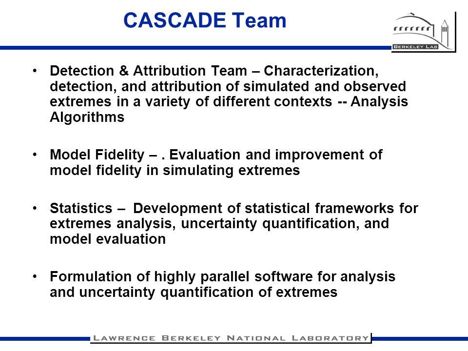 CASCADE Team
