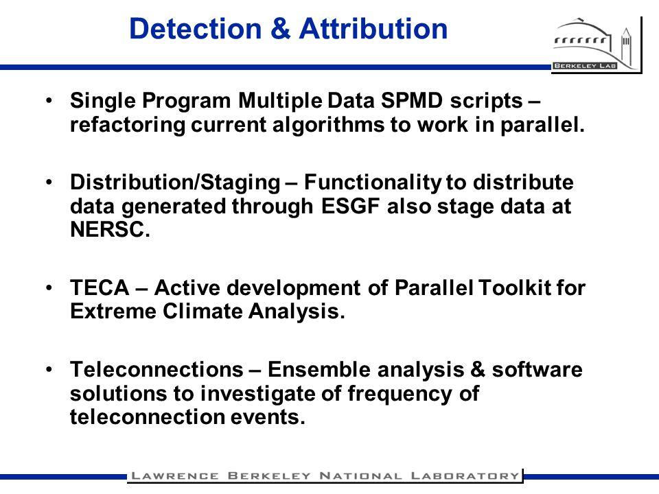 Detection & Attribution