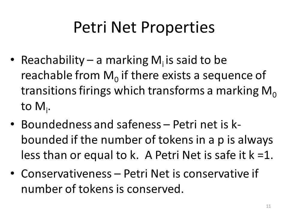 Petri Net Properties