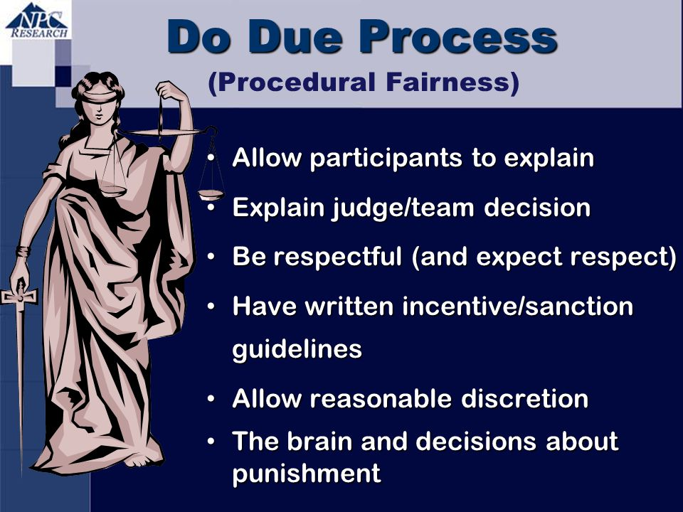 (Procedural Fairness)