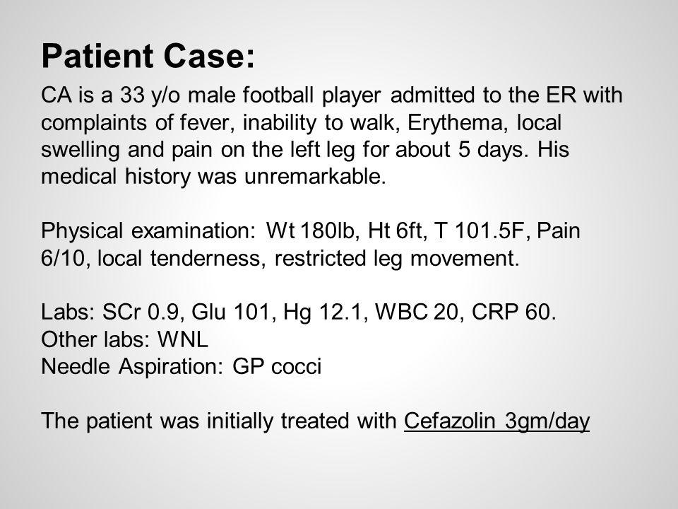 Patient Case: