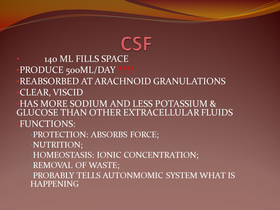 CSF 140 ML FILLS SPACE PRODUCE 500ML/DAY