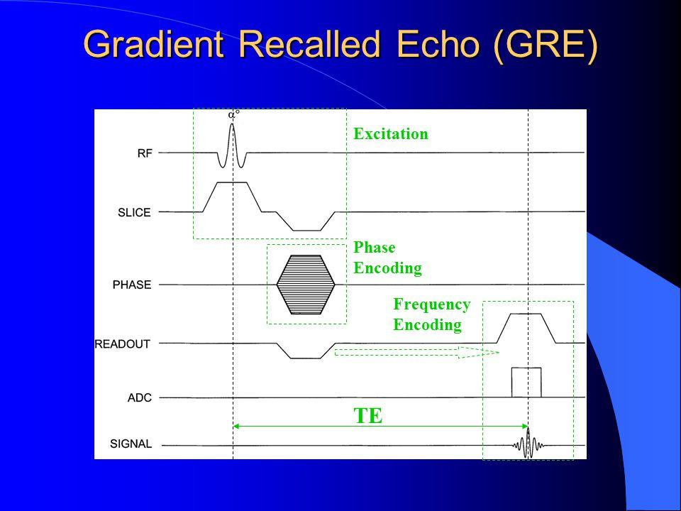 Gradient Recalled Echo (GRE)