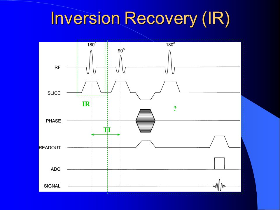 Inversion Recovery (IR)