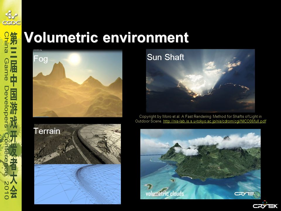 Volumetric environment