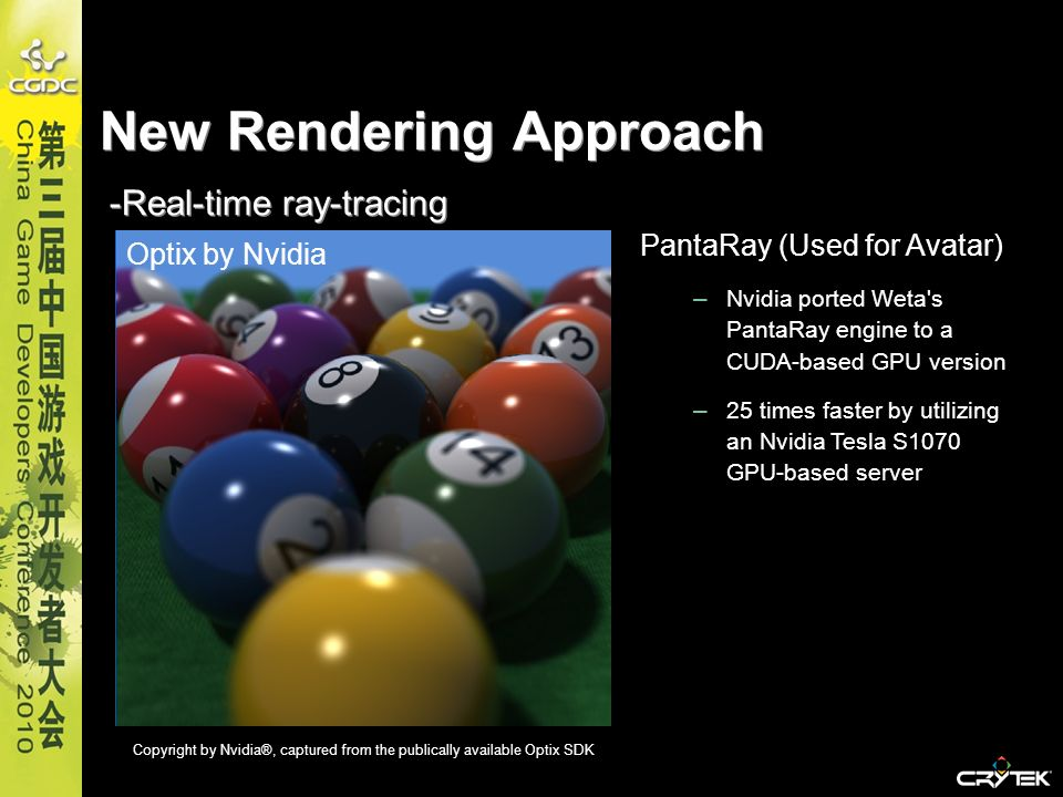 New Rendering Approach -Real-time ray-tracing