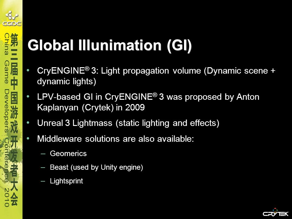 Global Illunimation (GI)