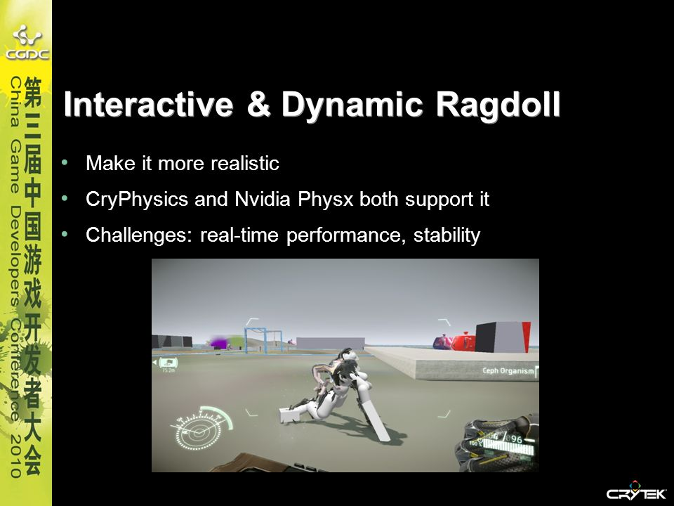Interactive & Dynamic Ragdoll