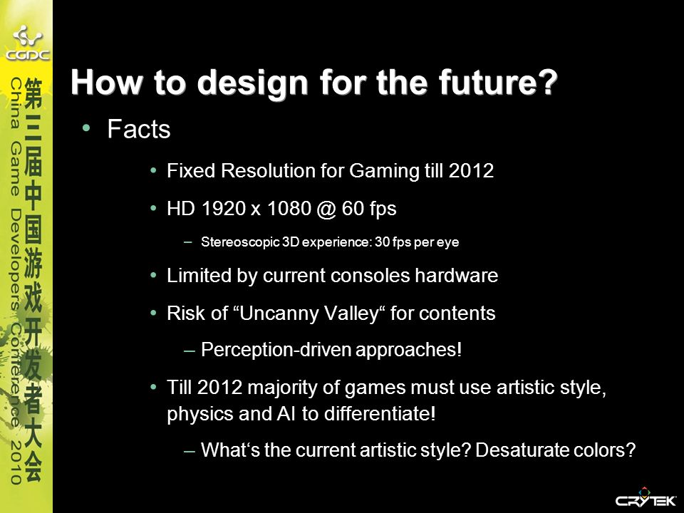 How to design for the future