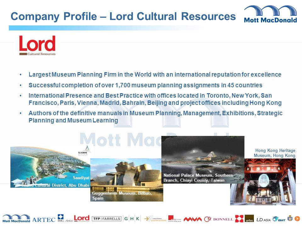 Company Profile – Lord Cultural Resources