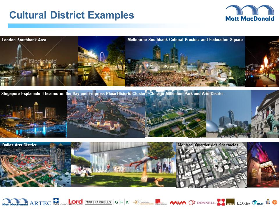 Cultural District Examples