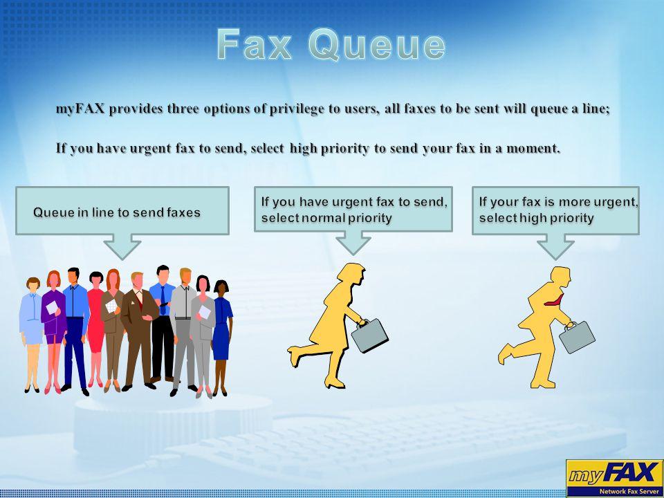 Fax Queue