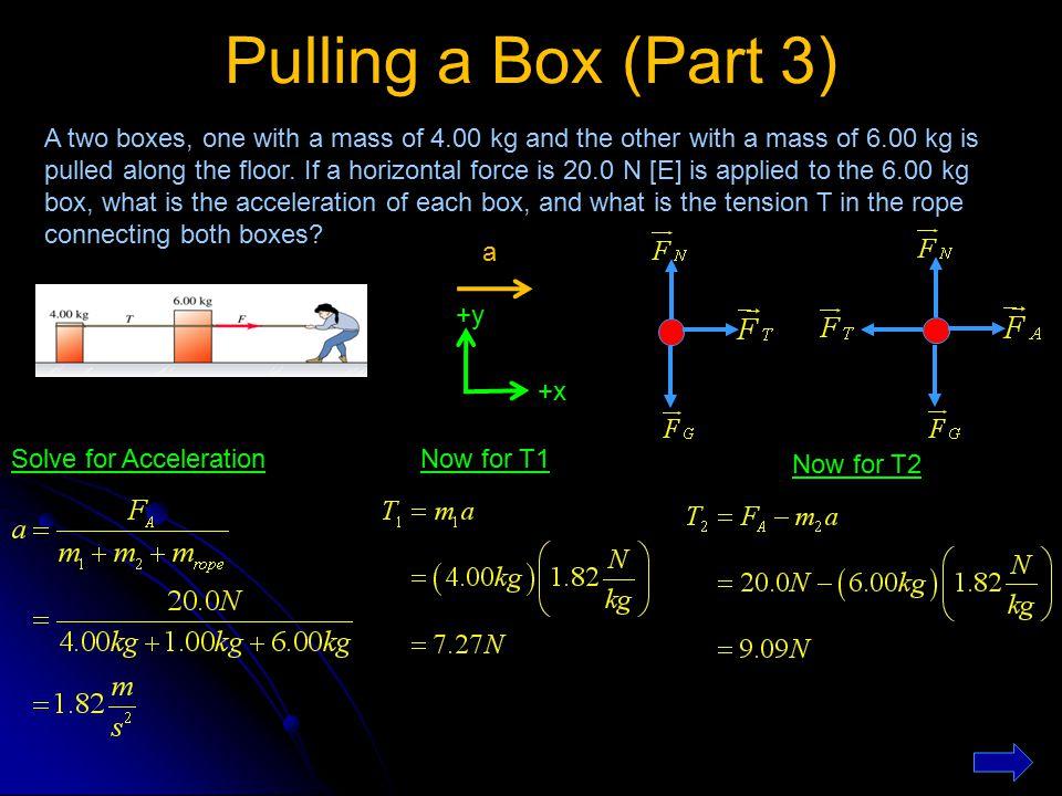 Pulling a Box (Part 3)