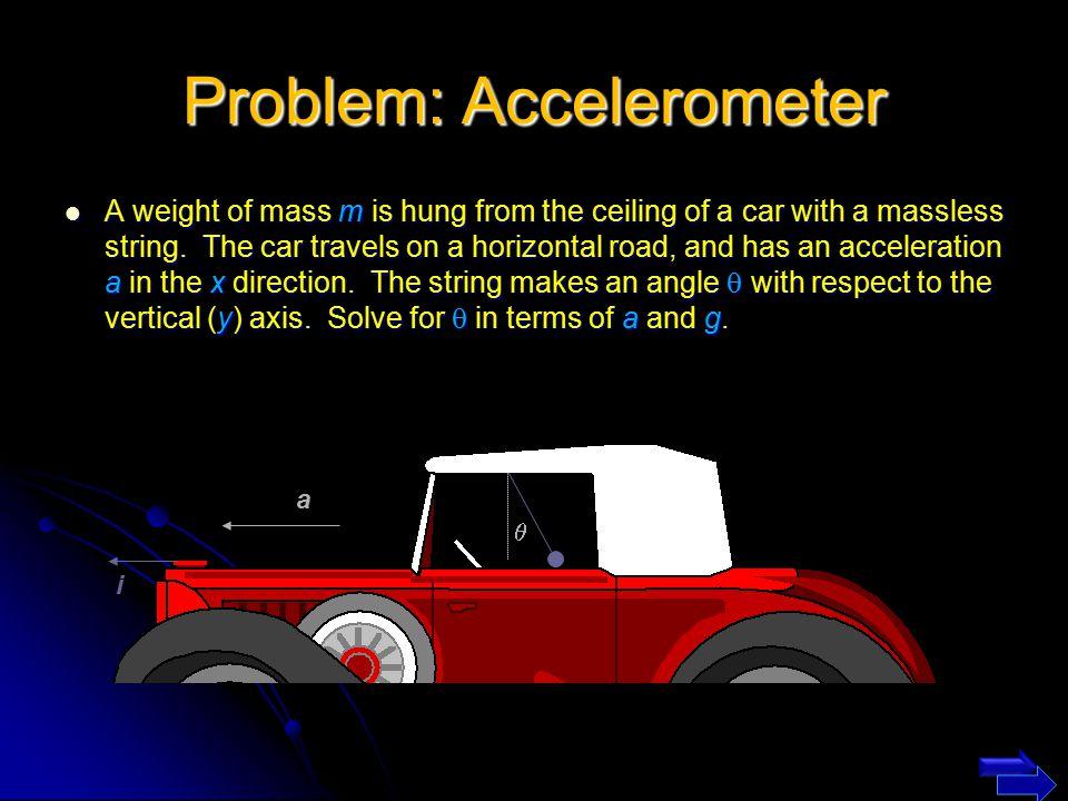 Problem: Accelerometer