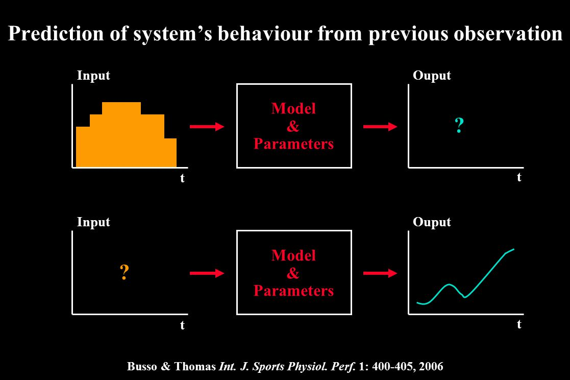 Prediction of system's behaviour from previous observation