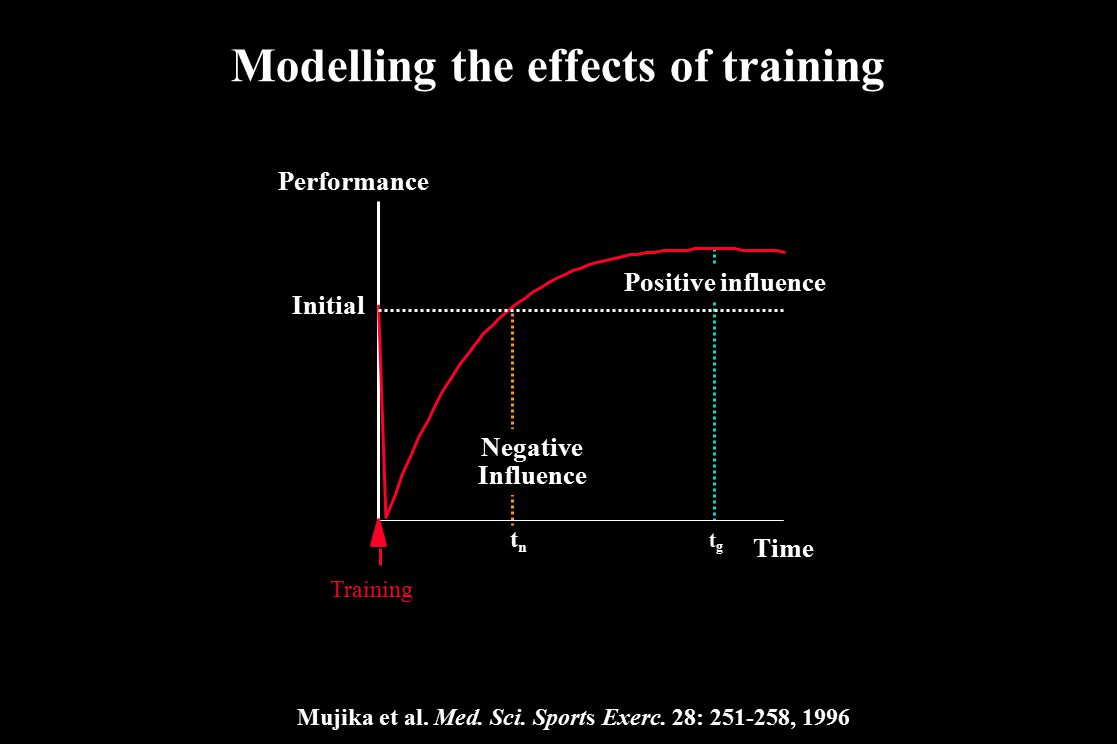 Modelling the effects of training