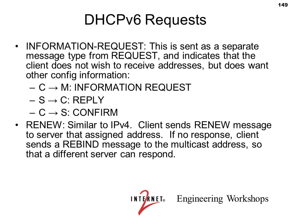 DHCPv6 Requests