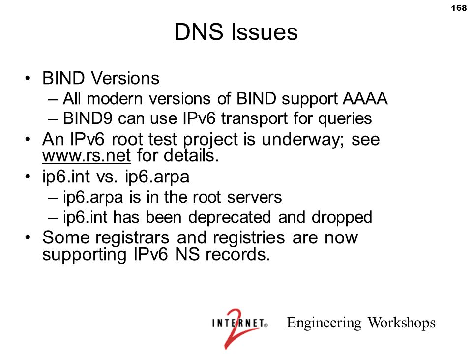 DNS Issues BIND Versions