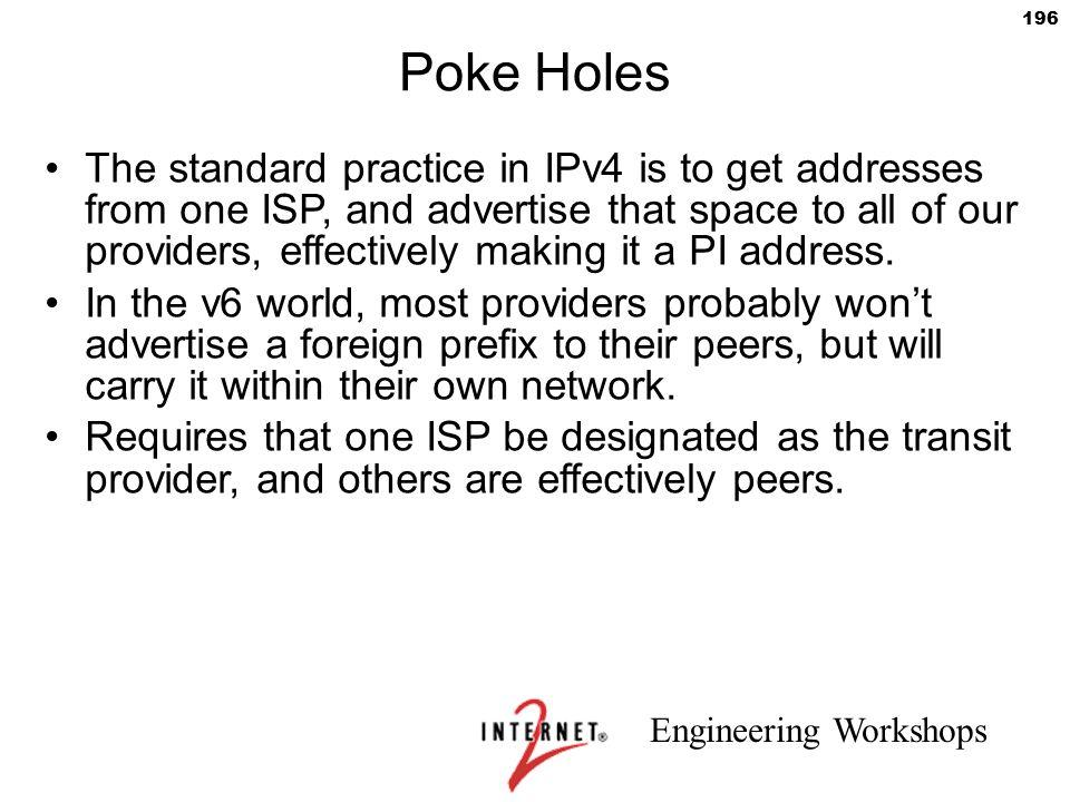 Poke Holes