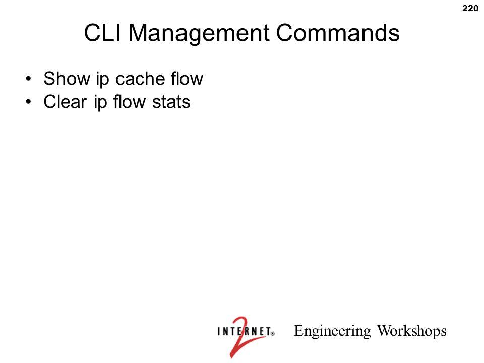 CLI Management Commands