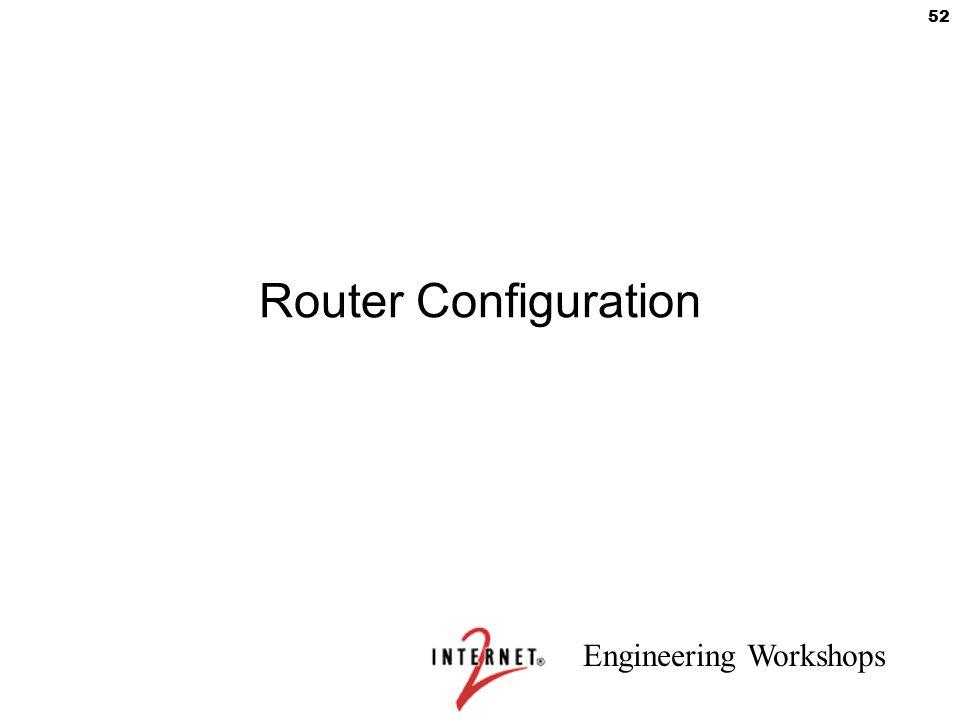 Router Configuration 52