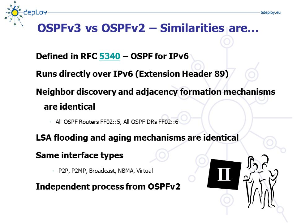 OSPFv3 vs OSPFv2 – Similarities are…