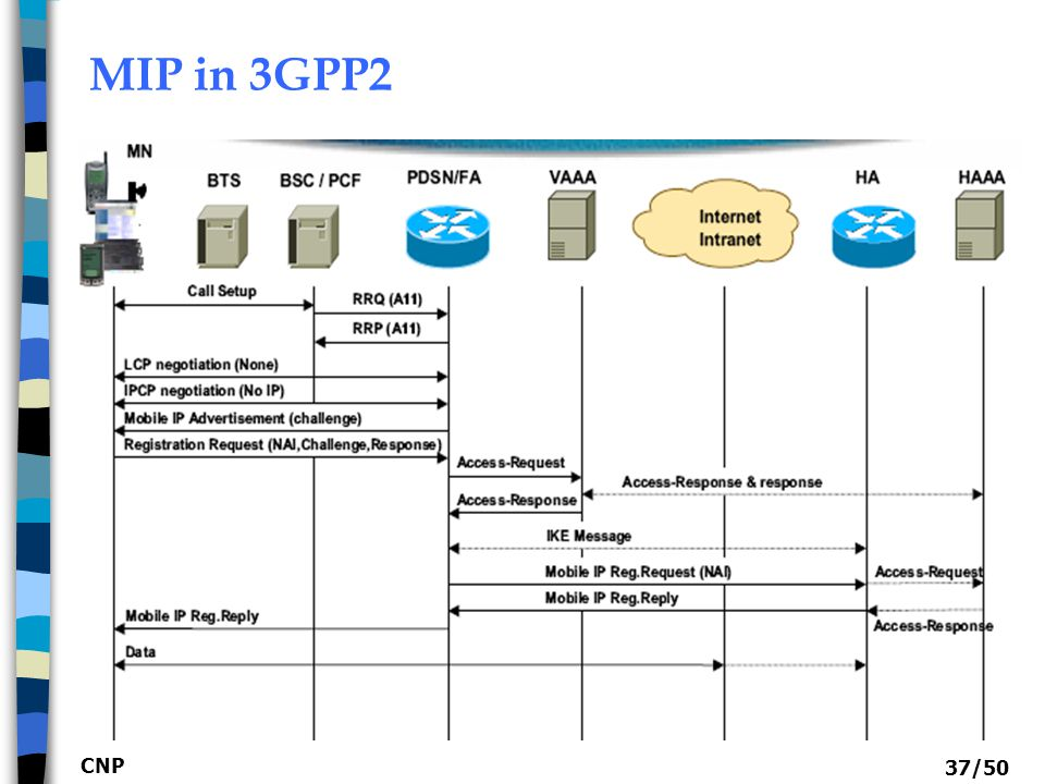MIP in 3GPP2 CNP