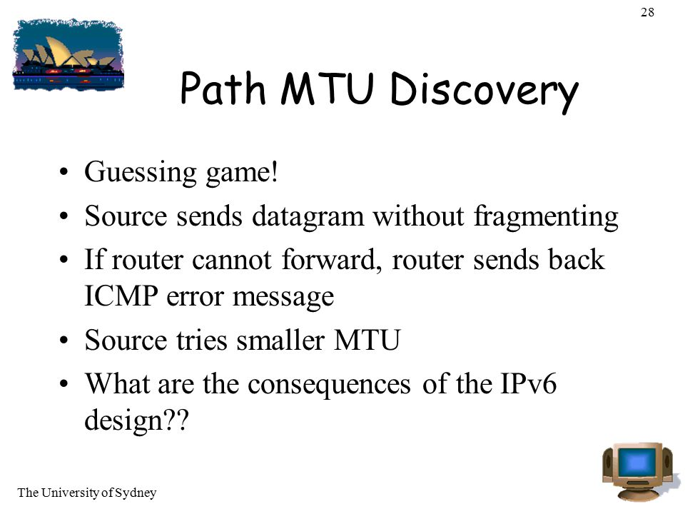 Path MTU Discovery Guessing game!