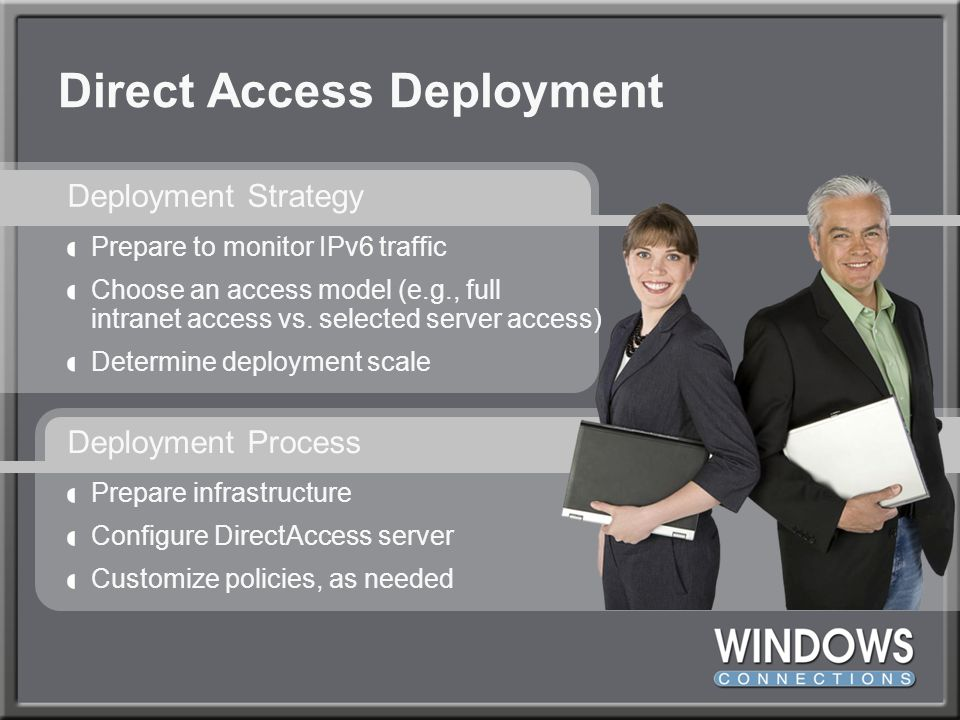 Direct Access Deployment